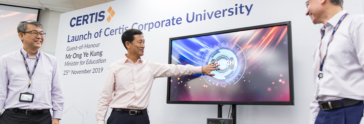 Certis launches Corporate University to build Future-Ready Workforce