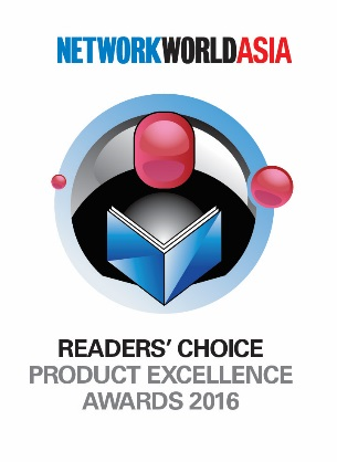 NetworkWorld Asia 2016 Readers' Choice Awards
