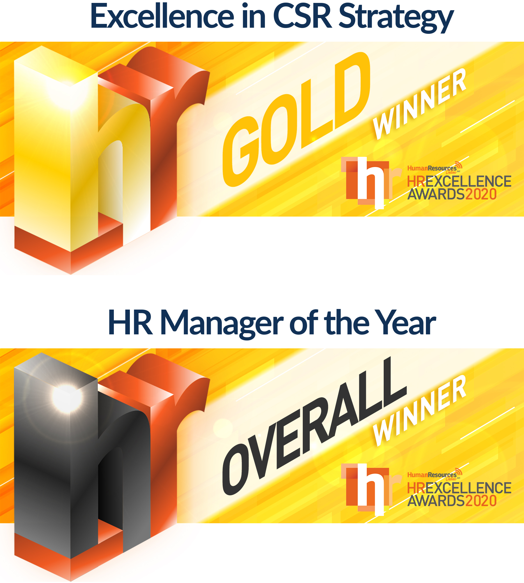 HR Excellence Awards - Excellence in CSR Strategy & HR Manager of the Year