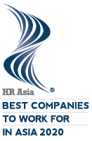 HR Asia Best Companies to Work for in Asia 2020 Award